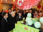 Le leader du PCV se rend dans la province chinoise du Zhejiang