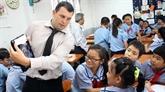 Khanh Hoà : des étrangers enseignent l'anglais dans les écoles primaires