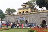 Cité impériale de Thang Long : une récente zone de fouille ouverte au public