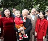 Le chef du PCV formule ses vœux du Têt à Hanoï