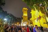 Les cloches plutôt que les feux d'artifice pour accueillir le Têt à Hanoï