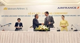 Vietnam Airlines et Air France signent une co-entreprise