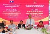 Les anciens étudiants du Laos au Vietnam contribuent aux relations bilatérales