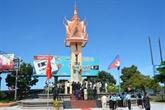 Inauguration du monument de l'amitié Vietnam - Cambodge à Koh Kong