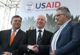 Les États-Unis lancent un projet hydraulique en Cisjordanie