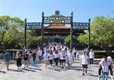 Thua Thiên-Huê accueille plus d'un million de touristes étrangers