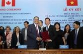 Hô Chi Minh-Ville et Toronto appondissent leur relation