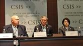 LAPEC Vietnam 2017 présenté lors dun débat aux États-Unis