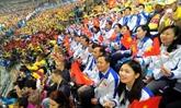 Activités des jeunes vietnamiens à Sotchi