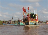 La fête Nghinh Ông - Cân Gio 2017 fait le plein de nouveautés