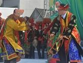 Présentation de l'espace culturel et touristique des ethnies de Hà Giang à Hanoï