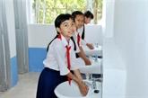 Samsung finance un projet d'hygiène scolaire à Bac Giang