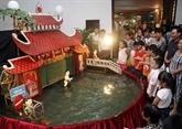 Les villages de marionnettes sur l'eau
