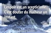 Doute - Scepticisme