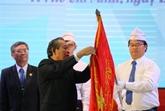 L'Ordre du Travail de première classe à l'École polytechnique de Hô Chi Minh-Ville