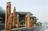 Vinh Phuc : l'espace d'art Flamingo attire les meilleurs sculpteurs