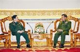 Renforcement des relations Vietnam - Myanmar dans la défense