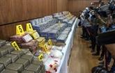 Maroc : saisie record de cocaïne, 13 personnes arrêtées