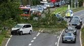Sept morts dans une tempête dans le Nord et l'Est en Allemagne