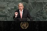 Le secrétaire général de l'ONU en Centrafrique d'ici fin octobre