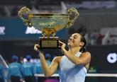 Tennis : Caroline Garcia toujours plus haut