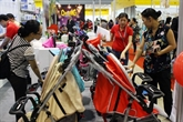 Vente au détail et franchise au centre de l'exposition internationale «Shop & Store Vietnam 2018»