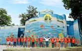 Hanoï : coup de lifting pour le palais des glaces du parc Thông Nhât
