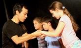 Stage de mime pour les enfants à Hanoï