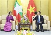 Trân Dai Quang rencontre des dirigeants des Philippines, du Myanmar et de Malaisie