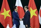 Trân Dai Quang reçoit les Premiers ministres du Japon et du Brunei