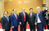 Ouverture de la 25e réunion des dirigeants économiques de l'APEC