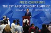Le Vietnam transmet la présidence de l'APEC 2018 à la Papouasie-Nouvelle-Guinée