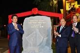 Le Premier ministre japonais Shinzo Abe à Hôi An