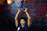 Tennis : premier titre pour le Sud-Coréen Hyeon Chung
