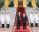 Vietnam - Chine : entretien entre Nguyên Phu Trong et Xi Jinping