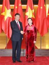 Vietnam - Chine : Entrevue Nguyên Thi Kim Ngân et Xi Jinping