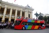 Des lignes de bus à deux étages au service des touristes à Hanoï