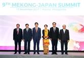 Le Premier ministre Nguyên Xuân Phuc au 9e Sommet Mékong - Japon
