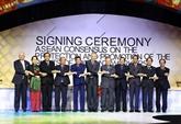 Le PM termine sa participation au 31e Sommet de l'ASEAN