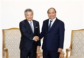 Le Premier ministre estime les contributions de Nikkei