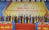 Quelque 258 millions d'USD signés à la foire commerciale Vietnam-Chine