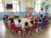 Promulgation du programme-cadre d'anglais pour les enfants de maternelle