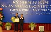 Éducation : 82 individus et collectifs de Hô Chi Minh-Ville honorés