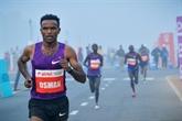 Malgré la pollution, New Delhi courra bien le semi-marathon