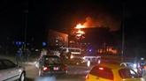 Cameroun : spectaculaire incendie à l'Assemblée nationale à Yaoundé