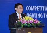 Colloque sur la compétitivité et le développement inclusif à Hanoï