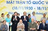 Le Premier ministre Nguyên Xuân Phuc à la fête de grande union nationale à Hanoï