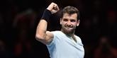 Tennis : Dimitrov domine Sock et rejoint Goffin en finale