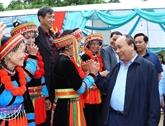 Le Premier ministre à la Fête de grande union nationale à Bac Kan