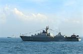Le Vietnam participe à la Revue internationale de la flotte en Thaïlande